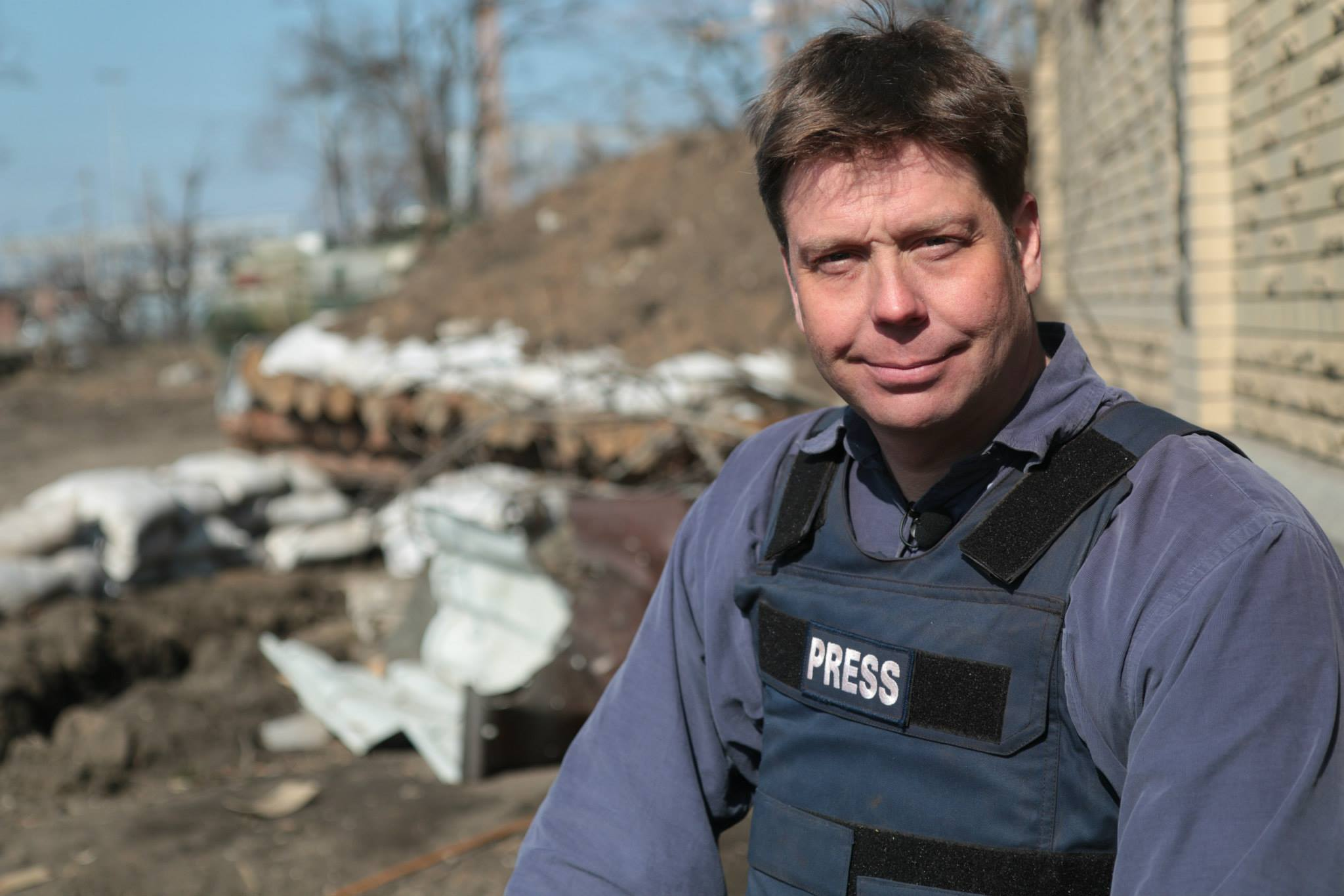 Ryan Chilcote Posing in Donetsk in Flak Jacket.jpg