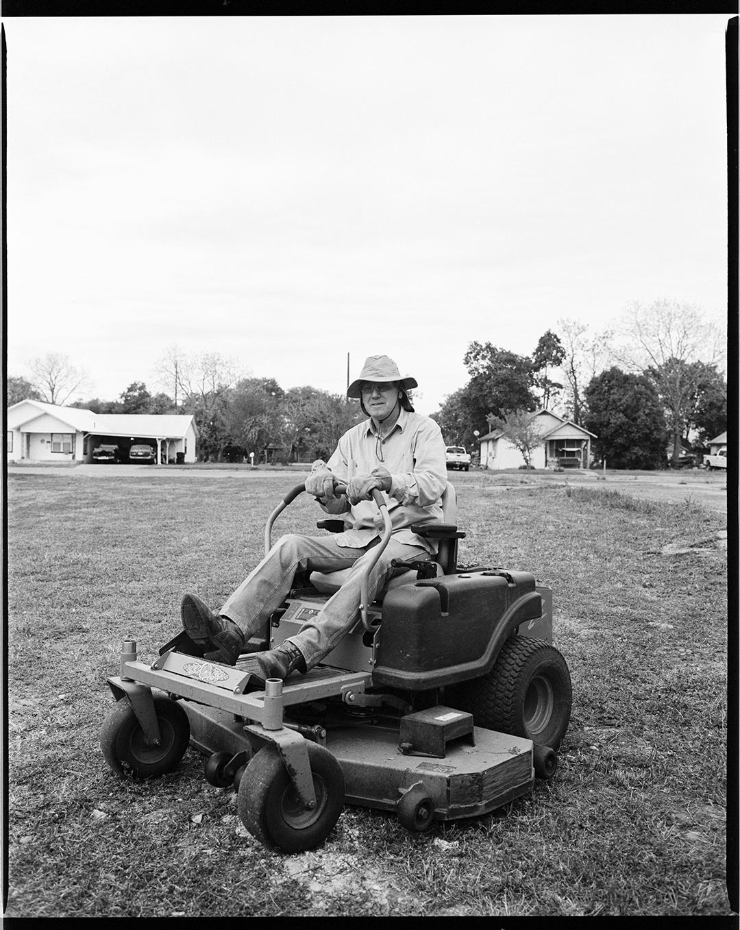 James - Luling, TX, 2019 / Kodak TriX400 / 65mm lens at f8