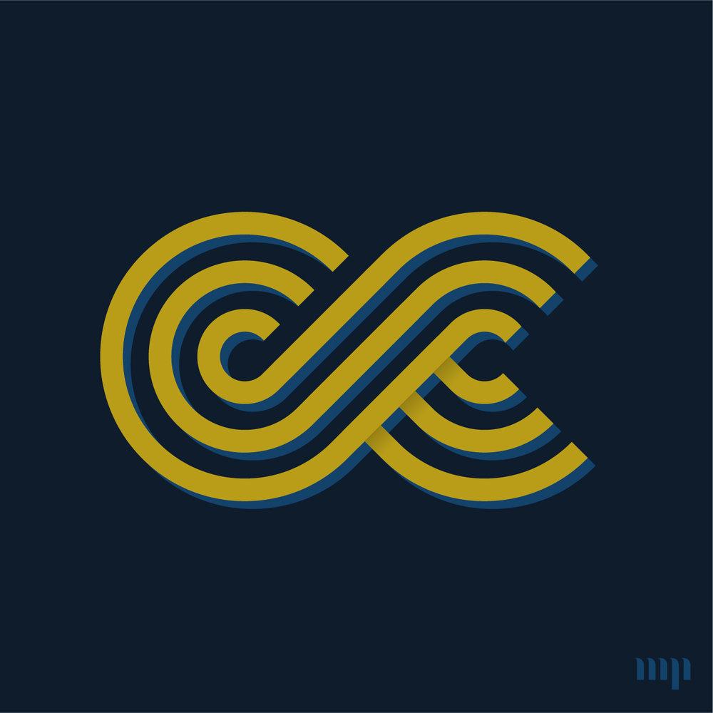 Cc Monogram Print Monogram Project
