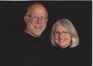 Sherry Bitler and her husband. Sherry is the interviewee on our Multiple Sclurosis resource.