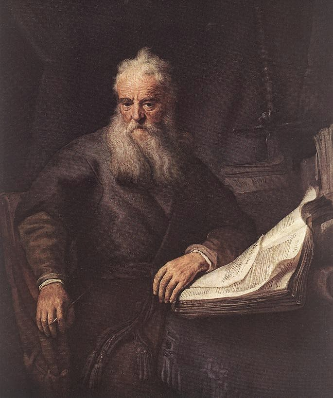 Rembrant, The Apostle Paul