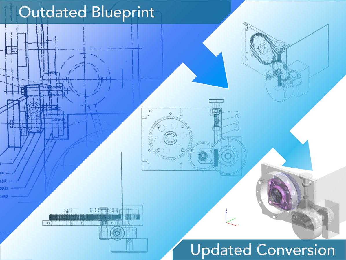 Reverse Engineering - We can create 3D models and engineering drawings from customer descriptions , sketches, drawings, already existing objects or any other form of documentation.