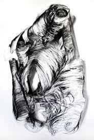 "Gloria Patria drawing (charcoal on paper / 51""x 38"") /  alexchowaniec.com"