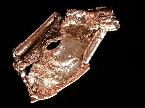 """Gloria Patria"" Bronze Pin."