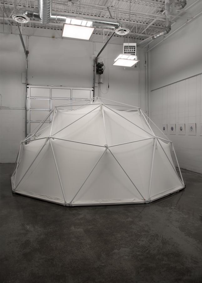 Stardust (dome exterior unlit), 2017.