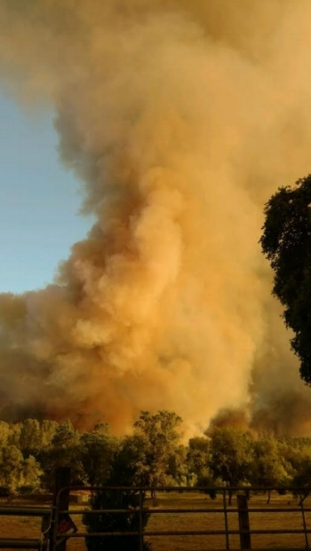 The Wall Fire in Butte County