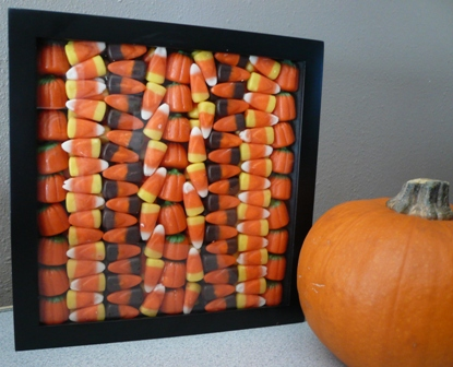 Halloween Candy Shadowbox