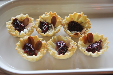 Raspberry Jalapeno Cheese Tarts on Crafty Staci