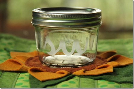 Etched Glass Jars 10