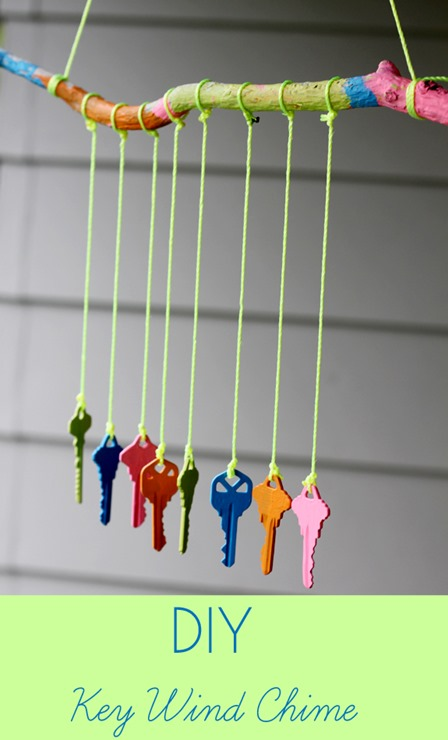 Key Wind Chime from Inner Child Fun