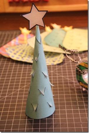 Illuminated Paper Trees 7