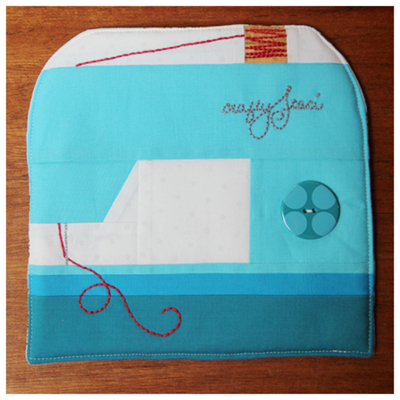 Sewing Machine Hot Pad