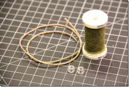 Thread Spool and Button Garland 12