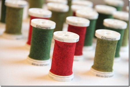 Thread Spool and Button Garland 6