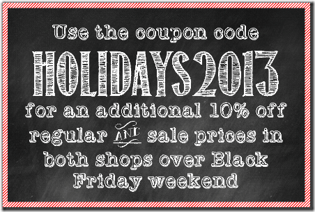 Black Friday Weekend Sale - CraftyStaci
