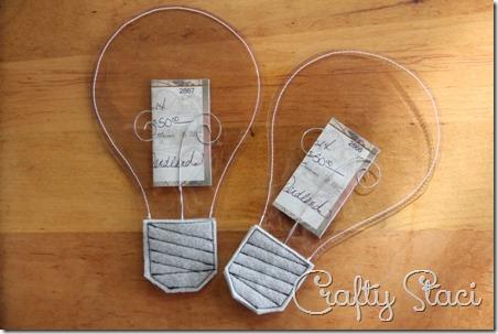 Light Bulb Graduation Gift - Crafty Staci 1