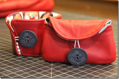 Red Leather Coat Refashion - Crafty Staci 11