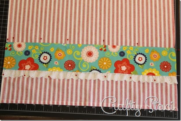 Embellished Kitchen Towels - Crafty Staci 5