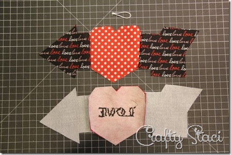 Heart and Arrow Coffee Sleeve - Crafty Staci 4
