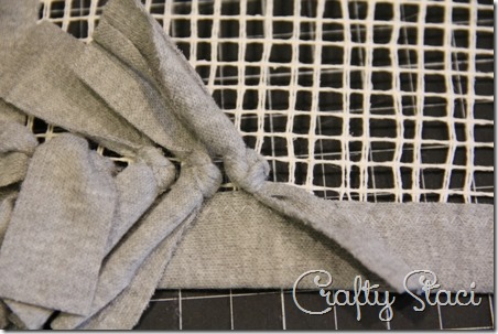 Knotted Knit Rug - Crafty Staci 9