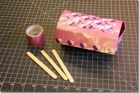 Duct Tape Sunglass Holder - Crafty Staci 12