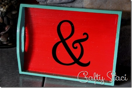 Ampersand Tray - Crafty Staci