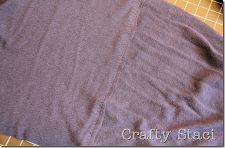 Long Sleeved Shirt Refashion - Crafty Staci 12
