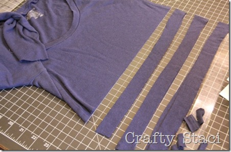 Long Sleeved Shirt Refashion - Crafty Staci 8