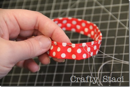 Mason Jar Scrunchie - Crafty Staci 10