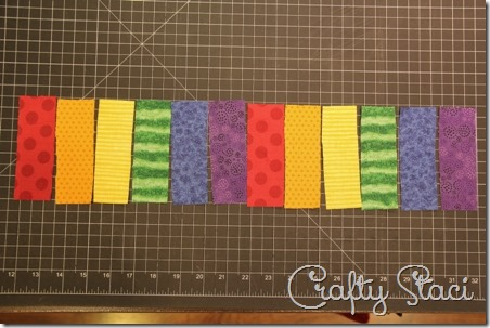 Rainbow Coffee Sleeve - Crafty Staci 2