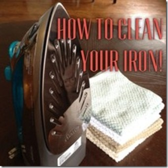 How to Clean Your Iron from Homemade Mamas