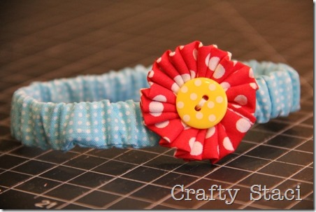 Mason Jar Scrunchie - Crafty Staci 12
