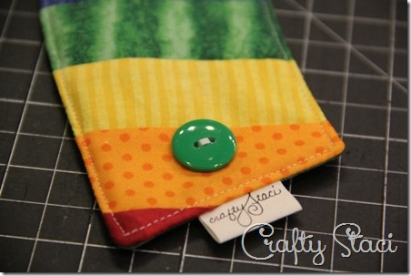 Rainbow Coffee Sleeve - Crafty Staci 7