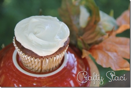 Pumpkin Chai Cupcakes - Crafty Staci 1