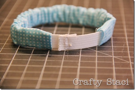 Mason Jar Scrunchie - Crafty Staci 6