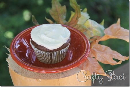 Pumpkin Chai Cupcakes - Crafty Staci 5