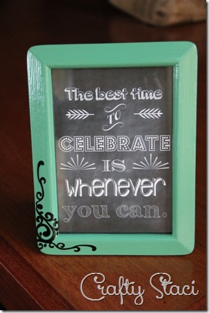 The Best Time to Celebrate Printable - Crafty Staci 4