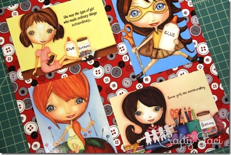 Sewing Room Postcard Collage - Crafty Staci 4
