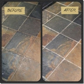 Tile and Grout Cleaner from Food