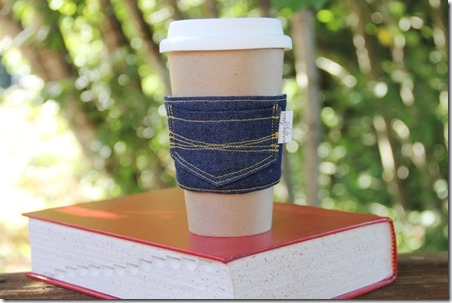 New Jeans Coffee Sleeve - Crafty Staci 0