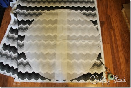 Easy Round Cushion Covers - Crafty Staci 4