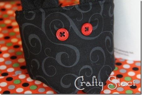 Coffee Sleeve of the Month Halloween Bat - Crafty Staci 10