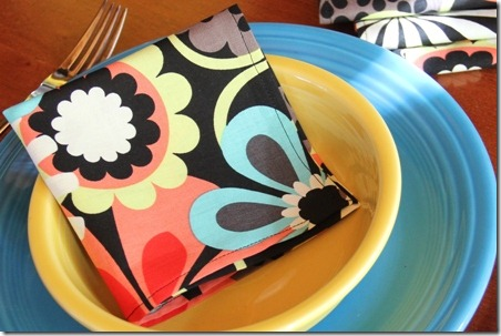 Simple Cloth Napkins - Crafty Staci 7