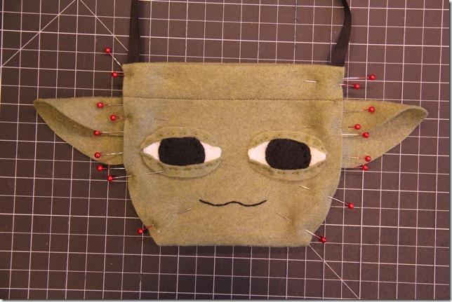 Yoda Bag - Crafty Staci 12