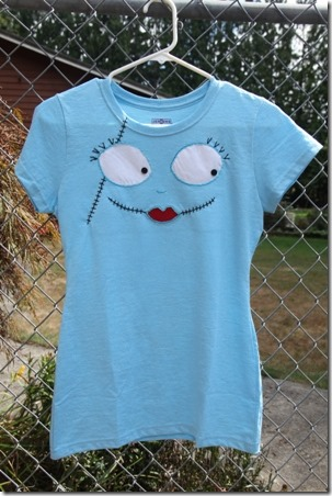 Jack and Sally T Shirts - Crafty Staci 3