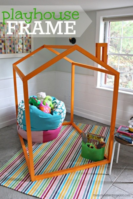 Playhouse Frame from Ana White