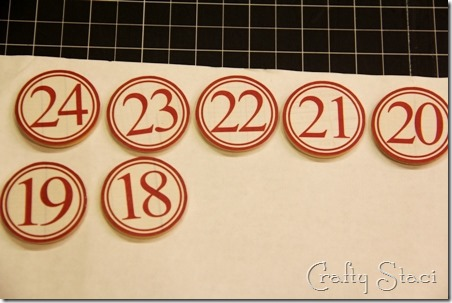 Christmas Countdown Banner - Crafty Staci 16