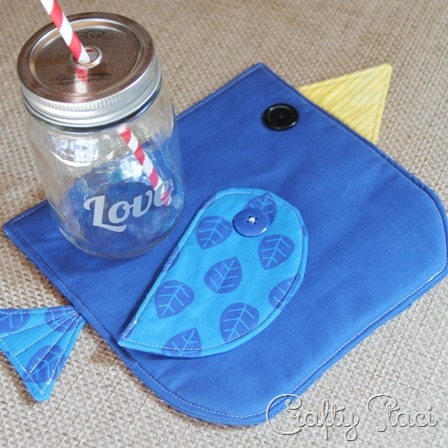 Bluebird Hot Pad from Crafty Staci