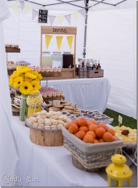 Wedding Dessert and Drink Buffet - Crafty Staci