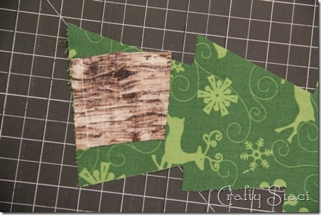 Christmas Tree Coffee Sleeve - Crafty Staci 3